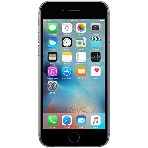 Apple iPhone 6S 16GB Smartphone Space Grey - Apple Certified Refurbished with 1 year Apple Warranty