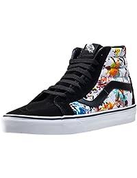 scarpe vans alte fiori