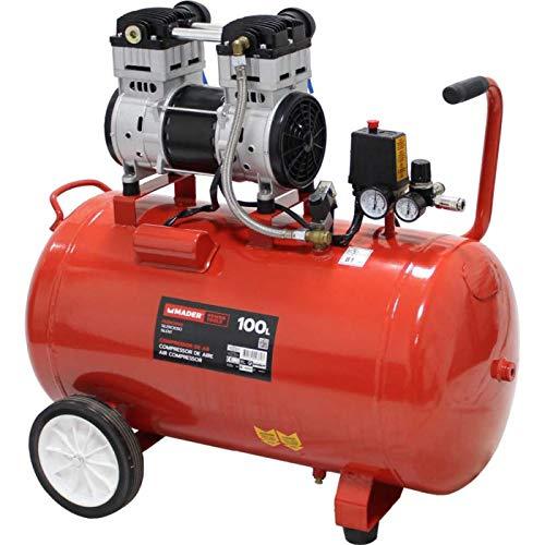 Compresor de Aire Silencioso 50L 1HP S/Aceite