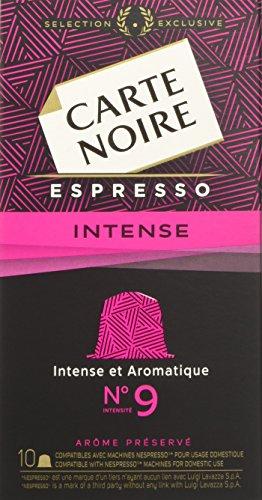 CARTE NOIRE ESPRESSO INTENSE n.9- 10 confezioni da 10 capsule [Tot. 100 ]