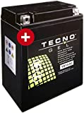 GEL Batterie YB14-A2 Honda CB 750 F2 Seven Fifty 1992-2003 von TECNO