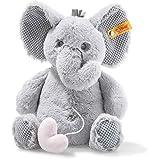 Steiff 241765 Soft Cuddly Friends Ellie Elefant Spieluhr 26 cm Hellgrau