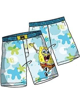 Spongebob Badeshorts in Blau oder Hellblau Gr. 104, 116, 128