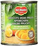 Del Monte Aprikosen 1/2 Frucht gezuckert, 12er Pack (12 x 227 g Dose)