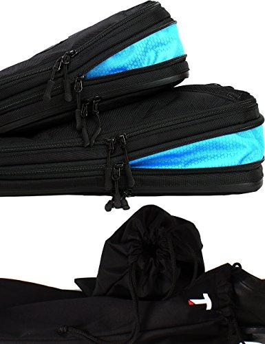 Taskin Men's Set de compresión Embalaje Cubo W/Dual y Limpia los Lado