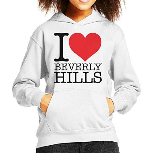 Coto7 I Heart Beverly Hills Kid's Hooded Sweatshirt