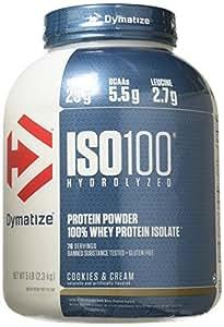 Dymatize - Iso 100 Hydrolyzed 100% Protéine Whey Isolate - 2268 Gr Cookies