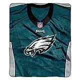 Philadelphia Eagles Decke 50x 60Raschel Jersey Design