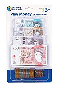 Learning Resources Play Money UK Assortment by Learning Resources Ltd