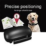 Gugutogo Mini GPS Tracker Localizzatore in Tempo Reale per Bambini Animali Domestici Gatti Collari per Cani (Colore: Nero)