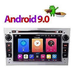 "Android 9.0 Silber 32GB Autoradio DVD GPS Navigation 7"" Radio DAB+ Mirrorlink OBD2 für Opel Vauxhall Astra Antara Vectra Corsa Zafira"
