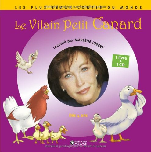 Le Vilain Petit Canard (1CD audio) par Marlène Jobert