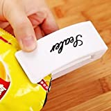 #9: Generic Multi-function Mini Portable Handy Plastic Bag Sealer Sealing Machine(White)