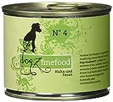Dogz finefood Hundefutter No.4 Huhn & Fasan 200g, 6er Pack (6 x 200 g)