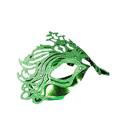 Masquerade Masque Dor - Surker Mens Imperial Gold Crown Powder Masquerade