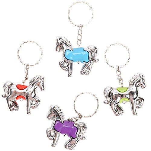 1 PORTE CLE CHEVAL COLORE 5 MODELES MODE