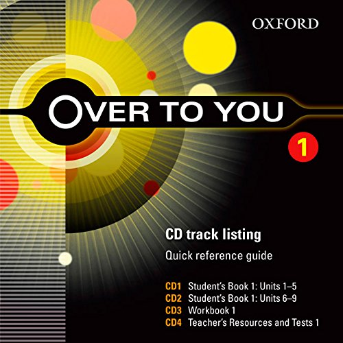 Over to You 1: Class CD (X5) (Es)