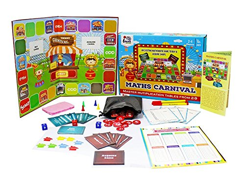 Maths Carnival- Exciting Maths Multiplication Game for 6+