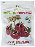 Freche Freunde Bio Fruchtchips 100% Erdbeere, 12er Pack (12 x 12 g)