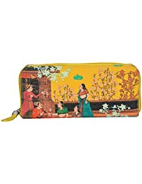 Eco Corner - Indian Art Balcony - Hand Clutch - 100% Cotton / Washable / Eco Friendly / Premium Quality / Printed...