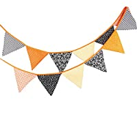 WINOMO Halloween Bunting Banner Pennant Triangle Flag Banner Garland for Party Decoration