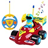 Best Gifts For A 2 Year Olds - SGILE Cartoon Remote Control Car Racer Toys Review