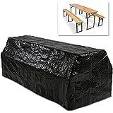 Miadomodo - Funda para muebles de jardín, aprox. 220/96/77 cm
