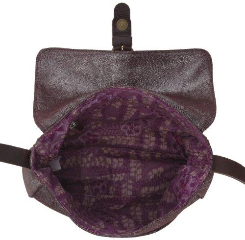 C.Oui Vincennes 3, Damen Umhängetasche Violett (Irise Parme)