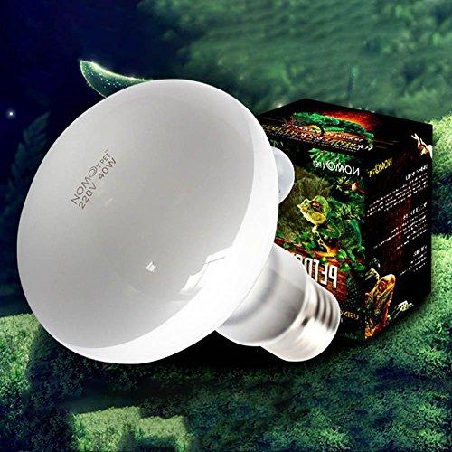 juxinuk 1 stück Reptilien Heizung Lampe Vollspektrum Uva Uvb Sunlamps für Pet Reptilien (100W) - Langwellige Uv-lampe