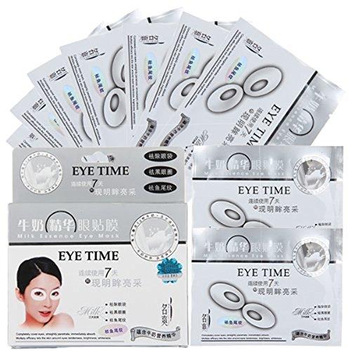 """10x Paar Augenpads """"EYE MASK"""" Collagen Augenserum Maske Augenpflege für Augenringe - Tränensäcke verringern, Lifting"""