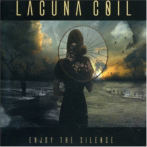Enjoy The Silence [2 Track CD] by Lacuna Coil