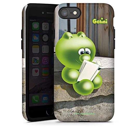 Apple iPhone X Silikon Hülle Case Schutzhülle Gelini Gummibärchen Grün Tough Case glänzend
