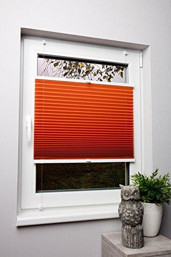 plissee-orange-120x130cm-max-gesamthohe-fensterflugel-mit-klemmtrager-ohne-bohren