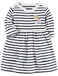 Carter's Baby Girls' Striped Jersey Dress 3 Months