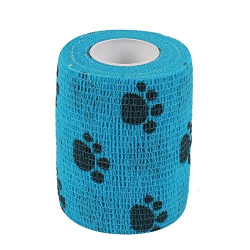 2-tech-75-cm-x-450-cm-azul-de-impresion-de-huellas-perro-vendaje-selbsthaftende-3509-huellas-antiadh