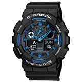 Casio G-Shock GA-100-1A2DR (G271) Analog Digital Blue Dial Men's Watch (GA-100-1A2DR (G271))