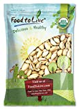 Bio Kalifornien Pistazien durch Food to Live (InDerSchale, Geröstet Und Gesalzen, Nicht-GVO, Koscher, Masse) - 5 Pfund