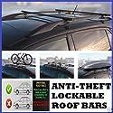 ALFA ROMEO GTV 96–04Heavy Duty Dach Bars–Anti-Diebstahl–abschließbar