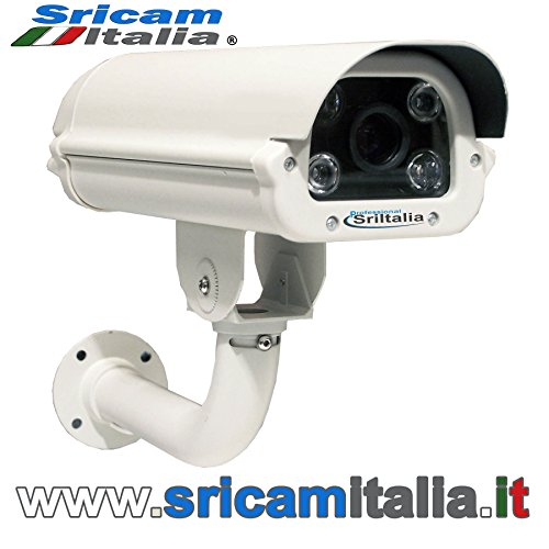 SRI-IPA690 IP CAMERA LECTURA PLACAS LPR 4 MPX  VARIFOCAL LENS IP66  6 A 22 MM
