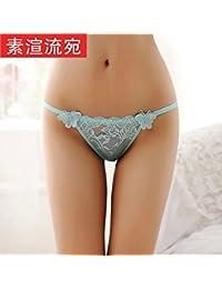 ZHANGYONG Sexy tentación de no-Marca de Baja Altura de Gasa translúcida  Lace Pajarita ba902d458a9e