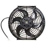 Viviance 10 Zoll 12V Schlanke Umkehrbare Elektrische Kühler Kühlung Fan Push Pull