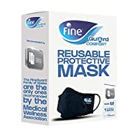 Fine Guard Comfort Adult Face Mask With Livinguard Technology for Unisex, Infection Prevention - Size Medium