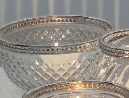 1 A-handelsagentur bord de métal tasse de verre lumière de verre petit Cup