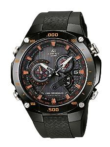 Reloj de caballero CASIO Edifice EQW-M1100C-1AER de cuarzo, correa de resina color negro (con alarma, radio, cronómetro) de Casio