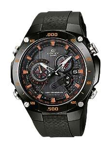 Casio Funkuhren Herren-Armbanduhr Funk-Solar-Kollektion Analog Quarz EQW-M1100C-1AER