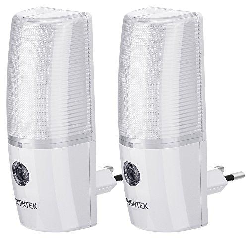 AVANTEK-ELF-L5-Luz-Enchufe-de-Noche-Fotosensible-LED-Lmpara-de-Noche-para-Nio-Luz-Nocturna-Pared-Lmpara-Noche-Infntil-Beb-Luz-Sensor-Pasillo-Plug-and-Play-2-Unidades