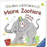 Drehen und Entdecken: Meine Zootiere