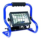 as - Schwabe 46426 Chip-LED-Strahler 20 W, IP 65 Baustrahler für Aussen und Baustelle, blau, 80 W, 230 V, Watt