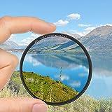 Lorenlli Fit Zomei 40,5/49/52/55/58/62/67/72/77 / 82mm Kamera MCUV-Filter zum Schutz von Objektivfilter für Canon für Nikon-Kamera