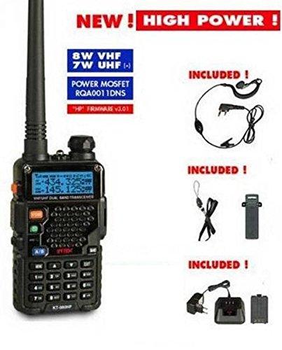 INTEK KT-980 HP RICETRASMETTITORE Portatile VHF 8W - UHF 7W - UV-5R...